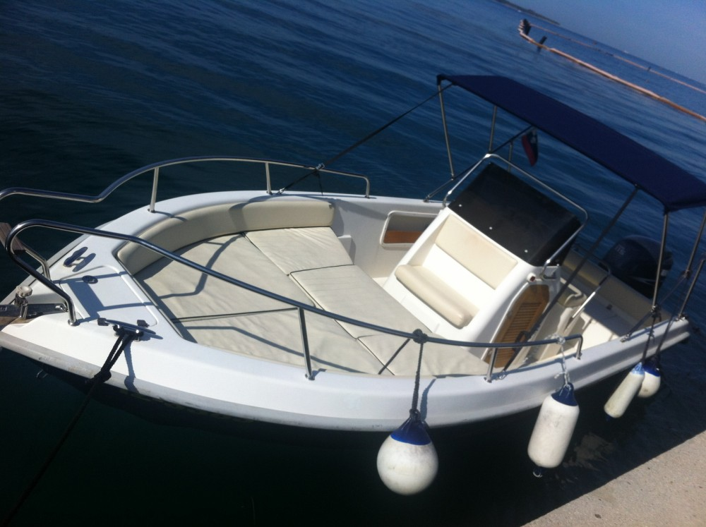 Noleggio barche Portorose economico FISHERMAN BOAT