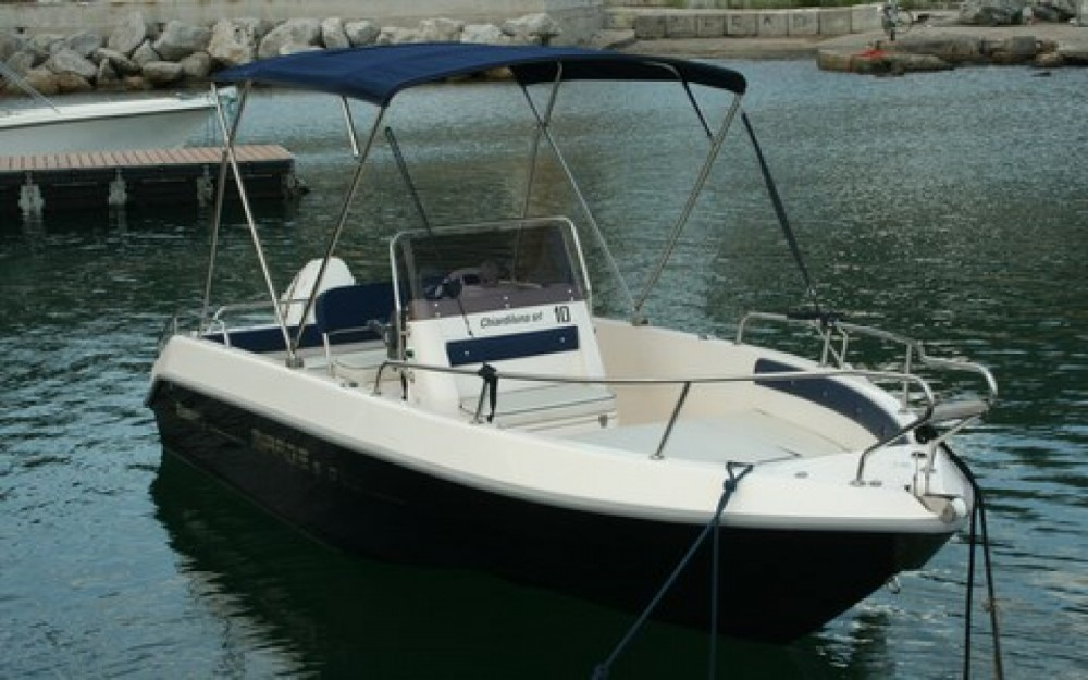 Noleggio barche Romar romar tirage 5.7 40hp Salerno su Samboat