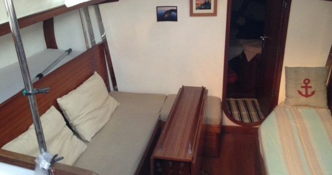 Noleggio Barca a vela Carter con patente nautica