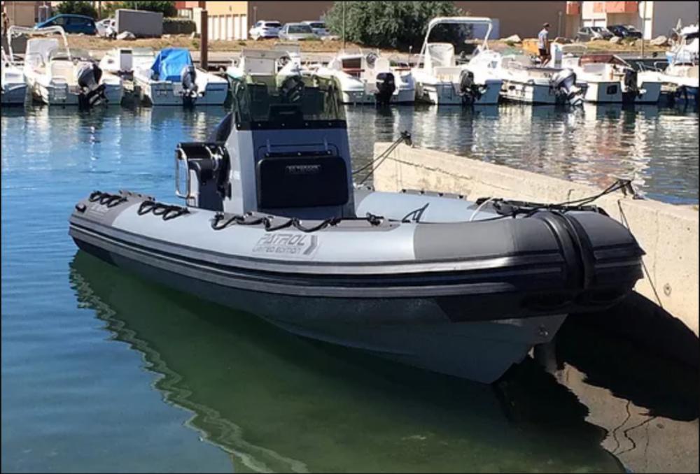 Noleggio Gommone con o senza skipper 3D Tender Pérols