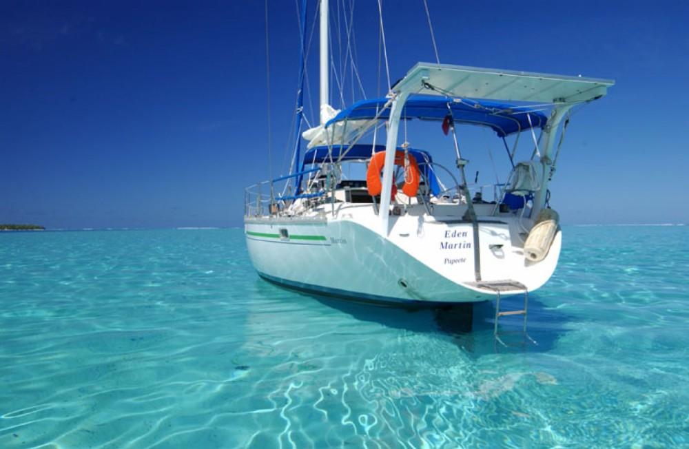 Noleggio Barca a vela con o senza skipper Jeanneau Huahine