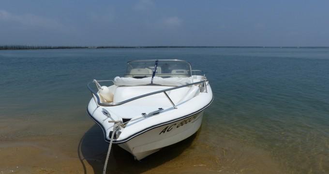Noleggio Barca a motore con o senza skipper Ocqueteau a Arcachon