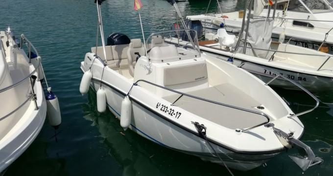 Noleggio Barca a motore a Port Ginesta – Quicksilver Activ 555 Open