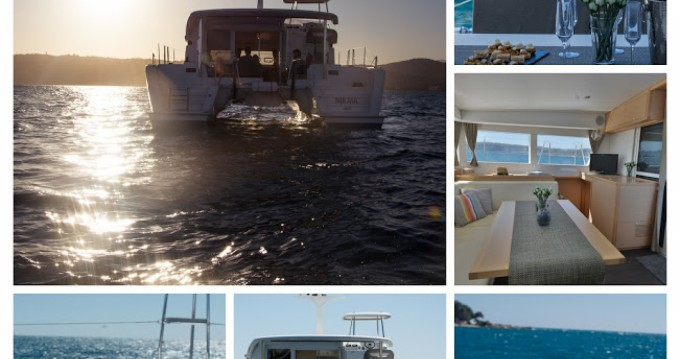 Noleggio Barca a motore a Cannes – Lagoon Lagoon 40 Motor Yacht