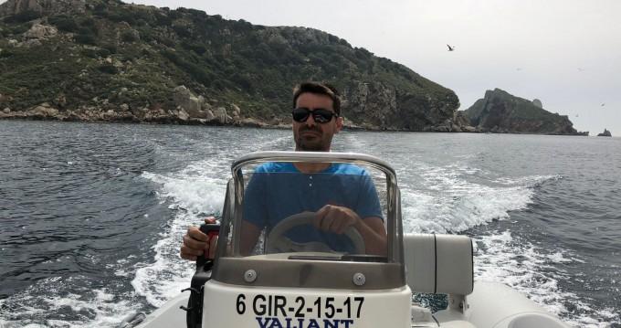 Noleggio Gommone Valiant con patente nautica