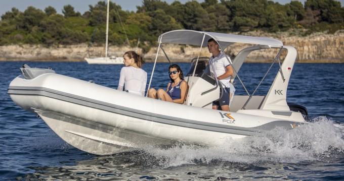 Noleggio barche Pula economico Kardis Fox 570
