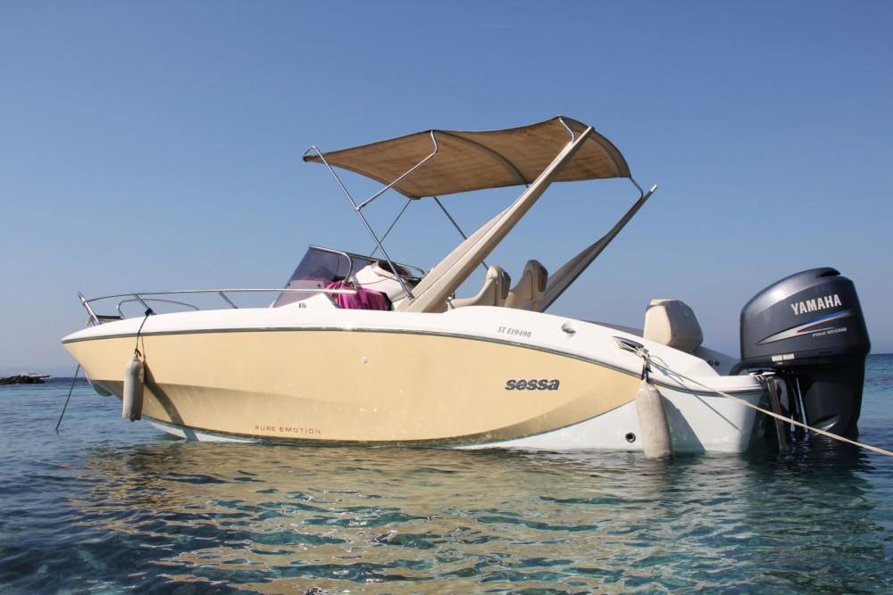 Noleggio Barca a motore Sessa Marine con una patente