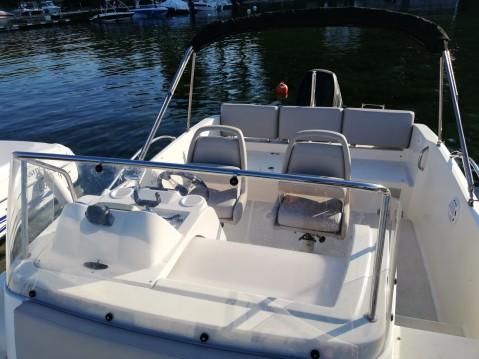 Noleggio Barca a motore a Excenevex – Quicksilver Activ 675 Sundeck