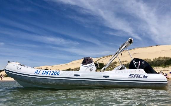 Noleggiare una Sacs Sacs S 640 a Lège-Cap-Ferret