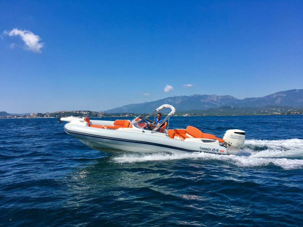 Noleggiare un'Marlin Marlin Boat 24SR Porto-Vecchio