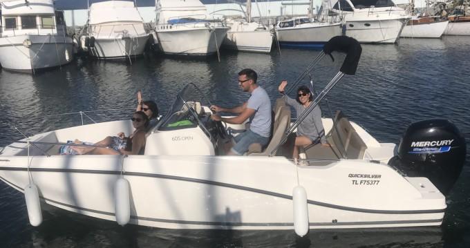 Noleggio barche Fréjus economico Activ 605 Open