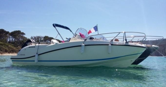 Noleggio Barca a motore con o senza skipper Quicksilver a Hyères
