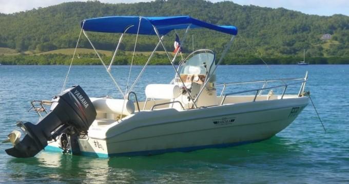 Noleggio Barca a motore con o senza skipper Rascala a Le Robert