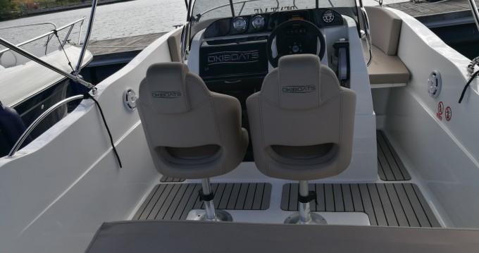 Noleggio Barca a motore Okiboats con patente nautica