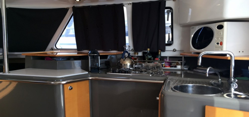 Noleggio yacht Saint-Florent - Fountaine Pajot Highland 35 su SamBoat