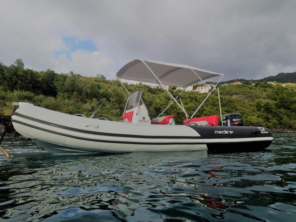 Noleggio Gommone con o senza skipper Zodiac Basse-Terre
