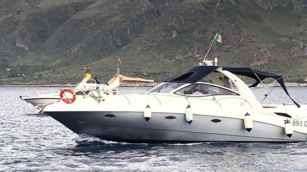 Noleggio barche Castellammare del Golfo economico Stama 33