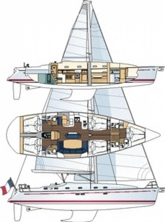 Noleggio barche Golfe-Juan economico Gib Sea 51