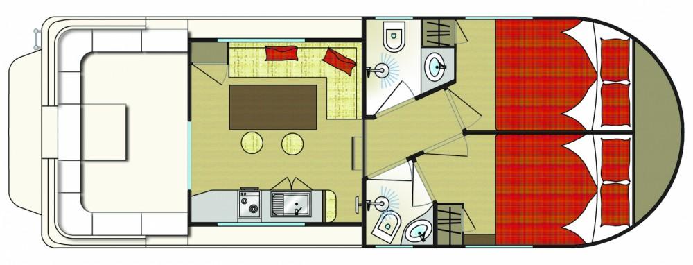 Noleggio Houseboat con o senza skipper New-Con-Fly Chioggia