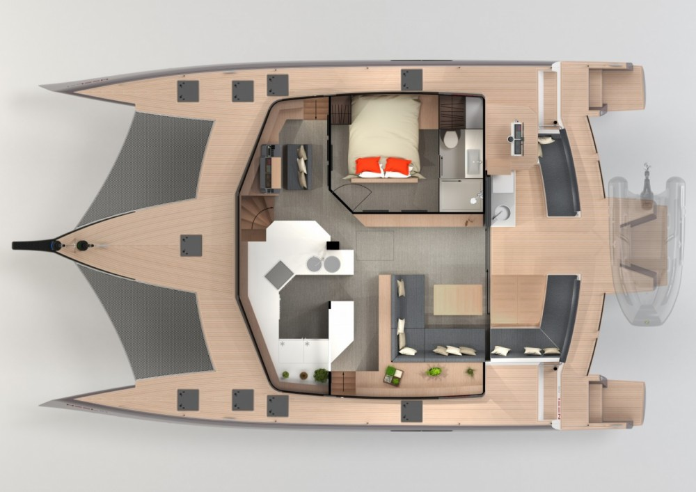 Noleggio barche Neel Neel 51 Le Marin su Samboat