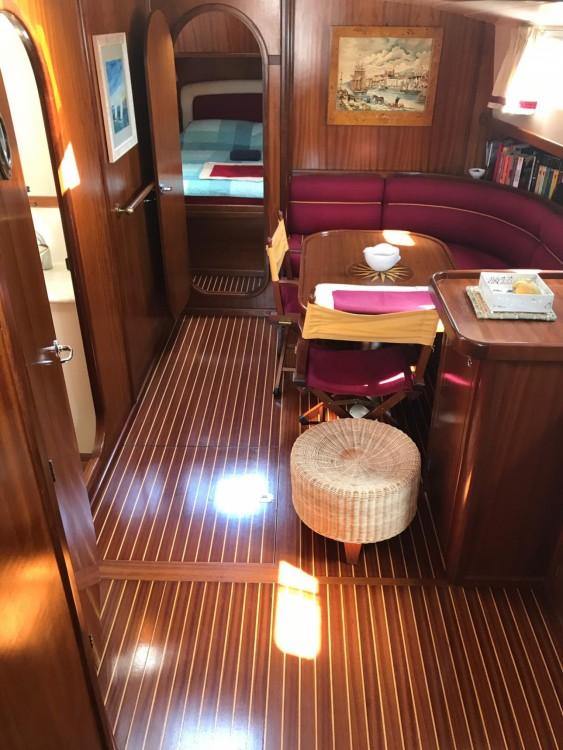 Menorquin Yachts 150 tra personale e professionale San Vito Lo Capo