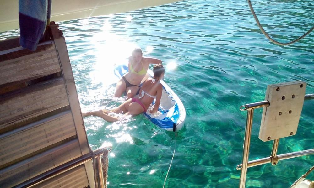 Noleggio barche Athènes economico Gin Fizz