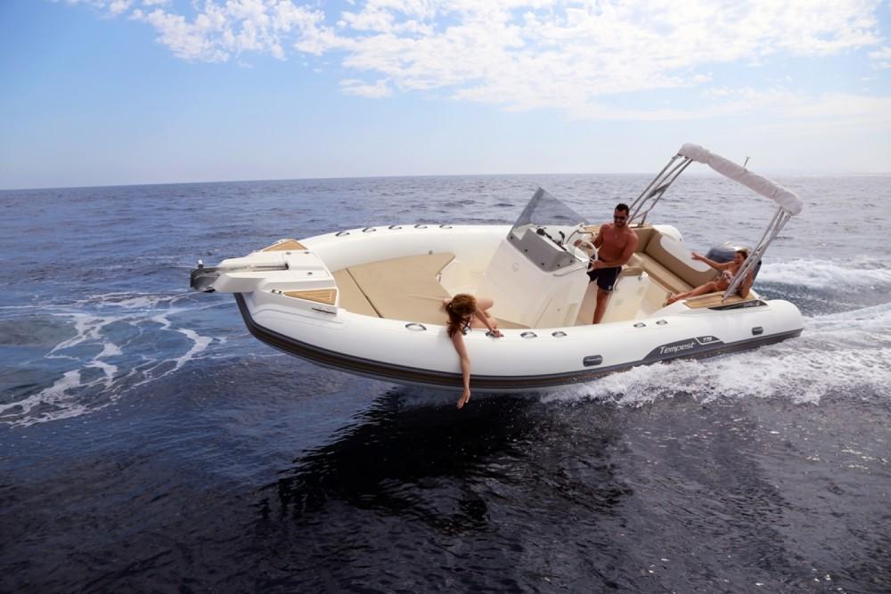 Noleggio barche Eivissa economico Tempest 775