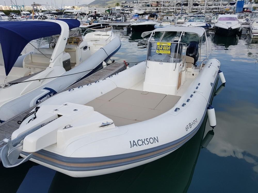 Gommone a noleggio Eivissa al miglior prezzo