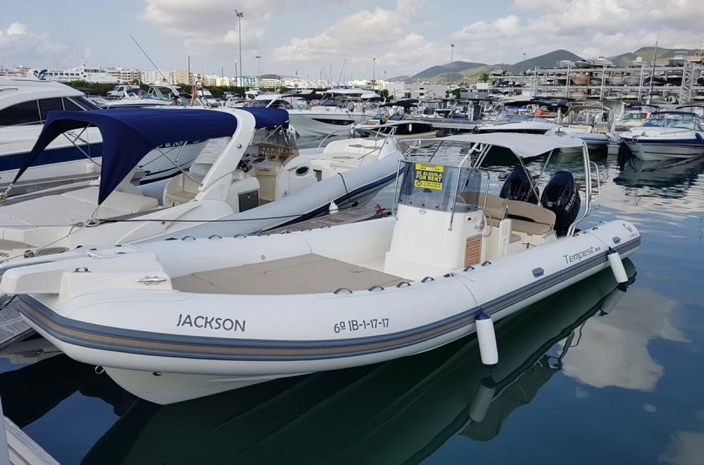 Noleggio barche Capelli Tempest 900 Sun Eivissa su Samboat