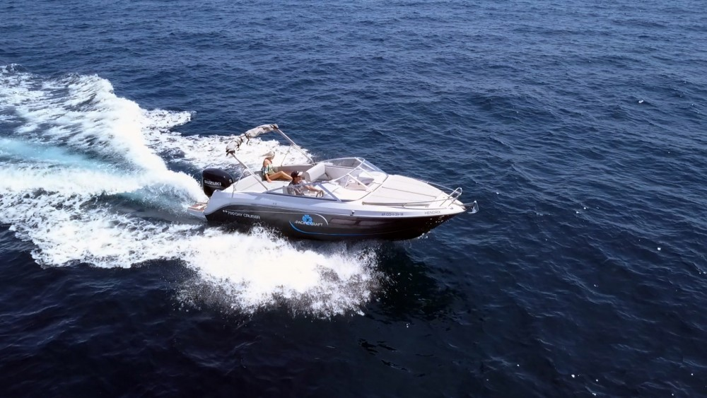 Noleggiare un'Pacific Craft Pacific Craft 700 DC Eivissa
