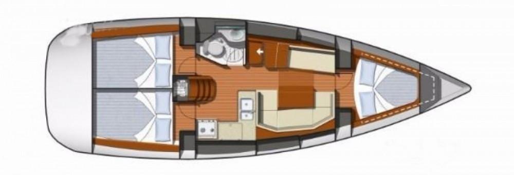 Noleggio barche Salerno economico Sun Odyssey 36i