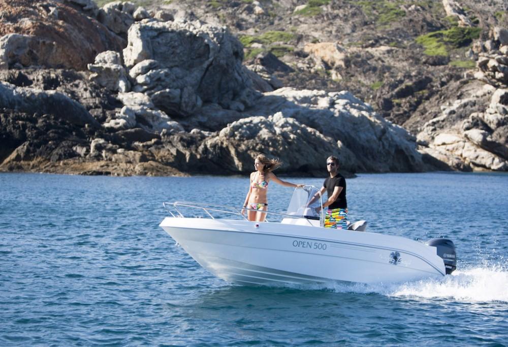 Barca a motore a noleggio Sète al miglior prezzo