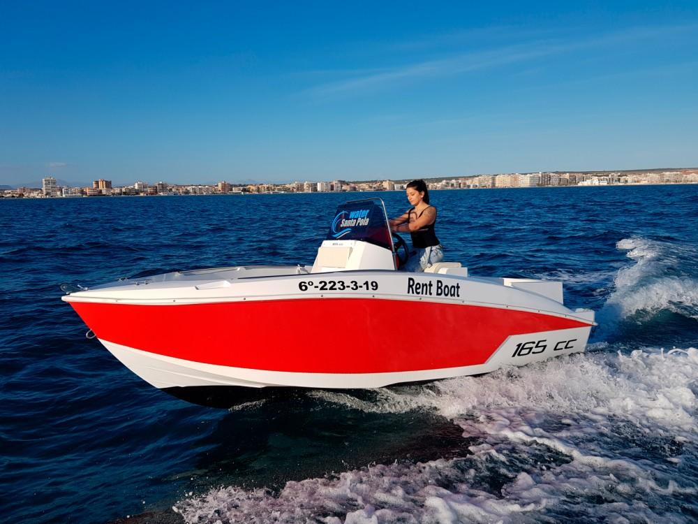 Barca a motore a noleggio Santa Pola al miglior prezzo