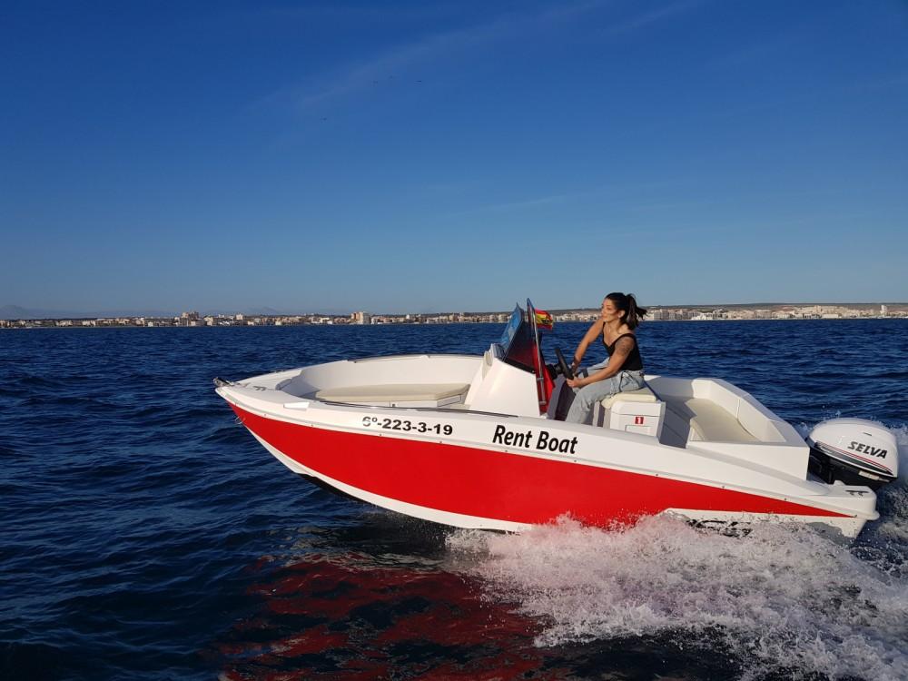Noleggio barche Marinello Happy Fishing Open Santa Pola su Samboat