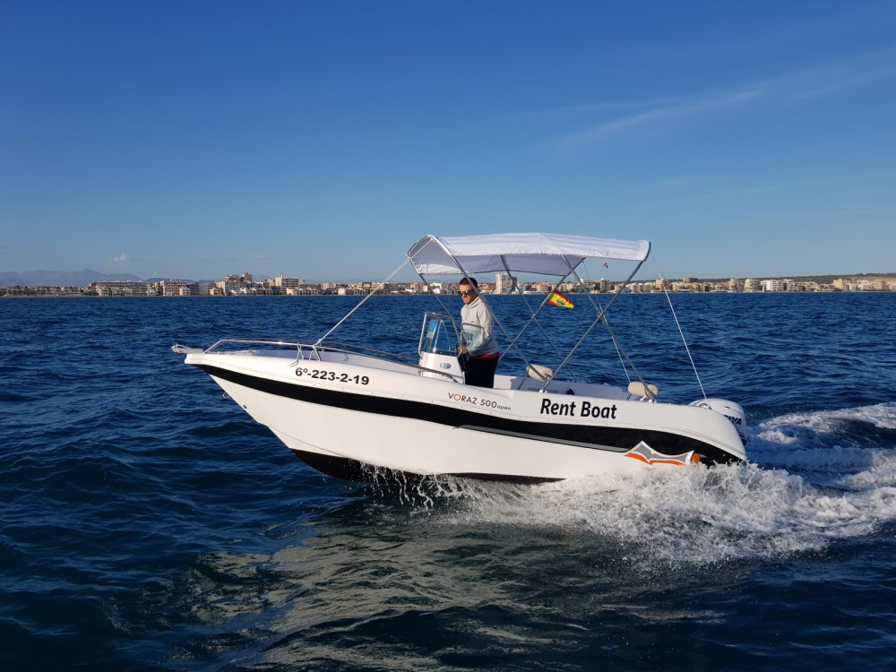 Noleggio yacht Santa Pola - Marinello Happy Fishing Open su SamBoat