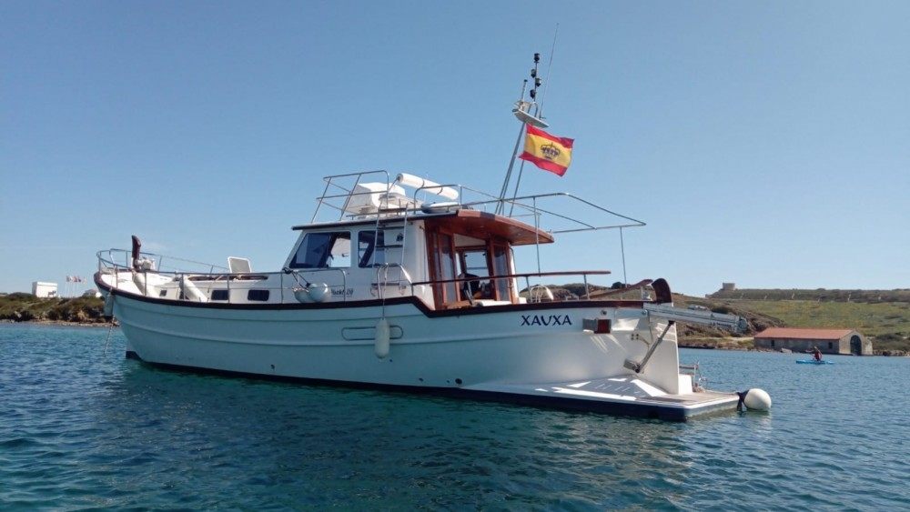 Noleggio barche Maó economico Menorquin Yachts 150 Fly