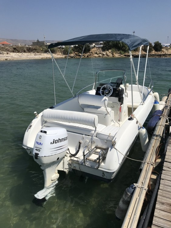 Noleggio Barca a motore Aquamar con una patente