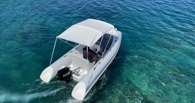 Noleggio Gommone Grand Boats con patente nautica