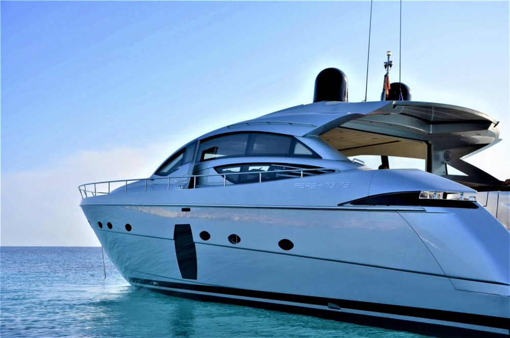 Noleggio barche Eivissa economico Pershing 72