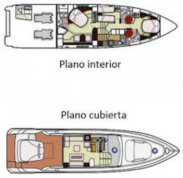 Noleggio Yacht Pershing con una patente