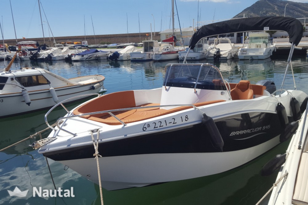 Barca a motore a noleggio Santander al miglior prezzo