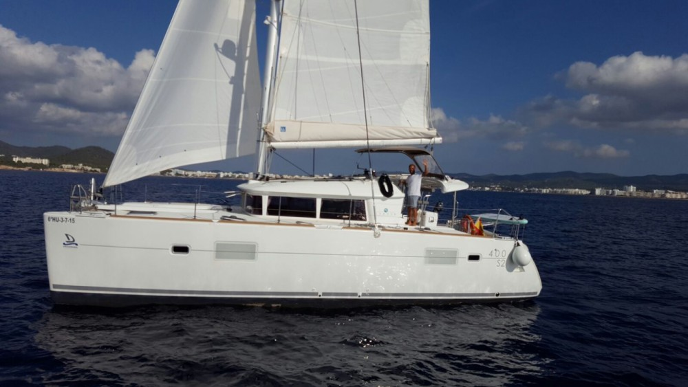 noleggio Catamarano Barcellona - Lagoon Lagoon 400 S2
