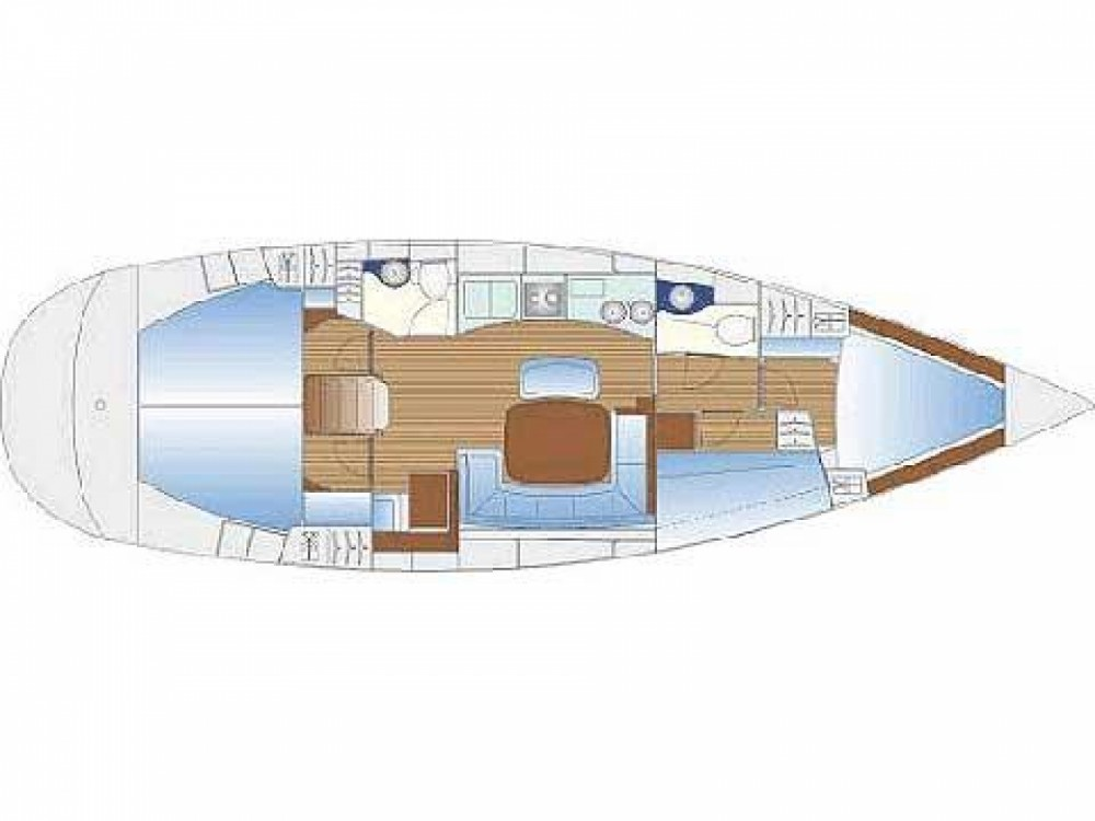 Barca a vela a noleggio Κεραμωτή al miglior prezzo