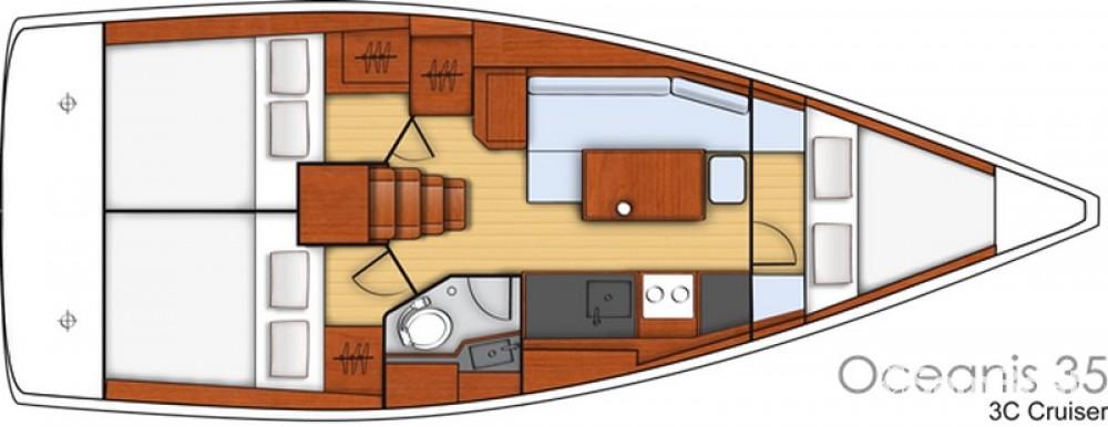 Noleggio Barca a vela con o senza skipper Bénéteau Spalato