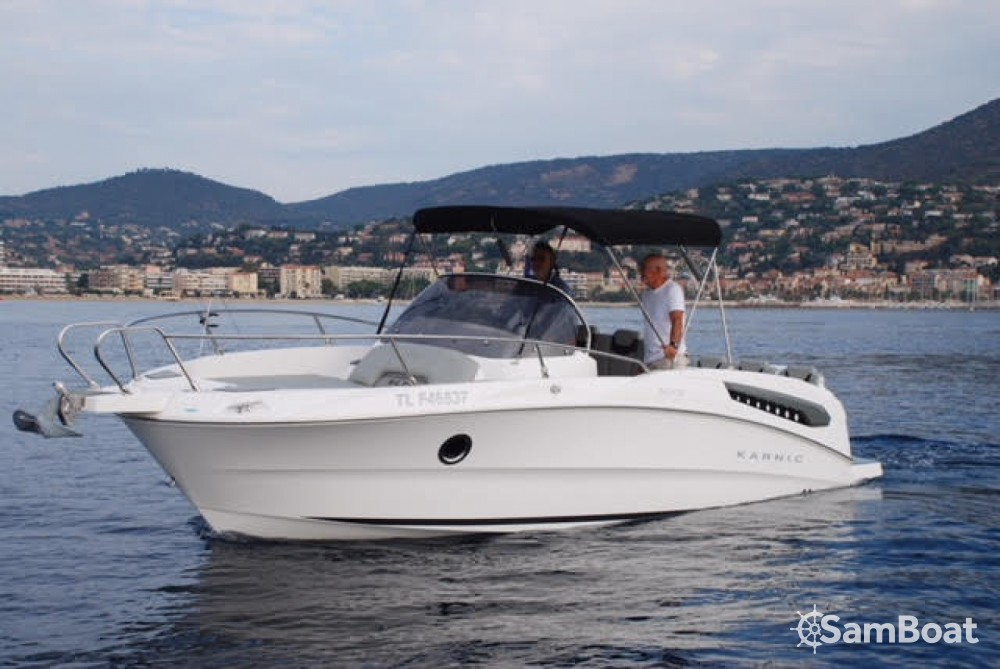 Noleggio Barca a motore con o senza skipper Karnic Le Grau-du-Roi