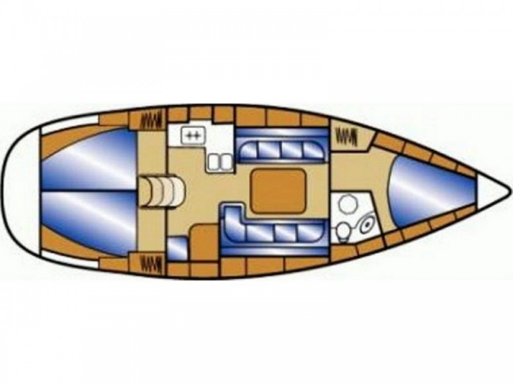 Noleggio barche Spalato economico Bavaria 37