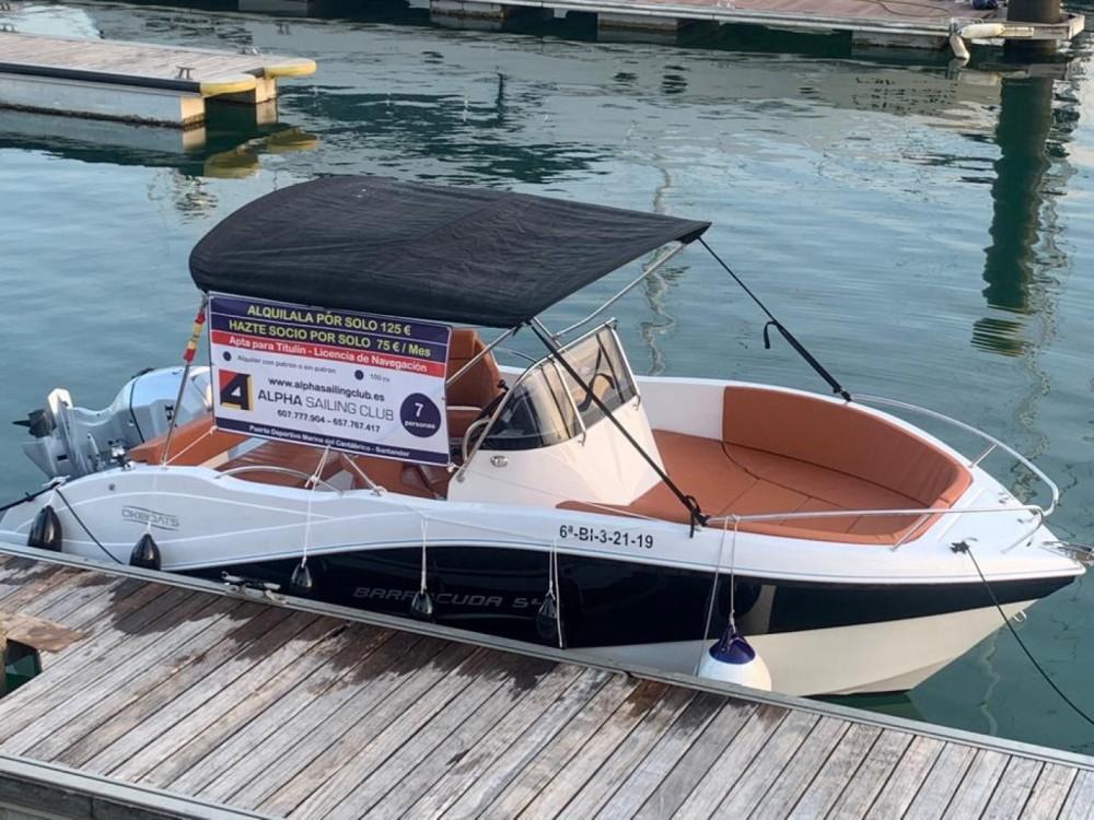 Noleggiare un'Okiboats Barracuda 545 Open Santander