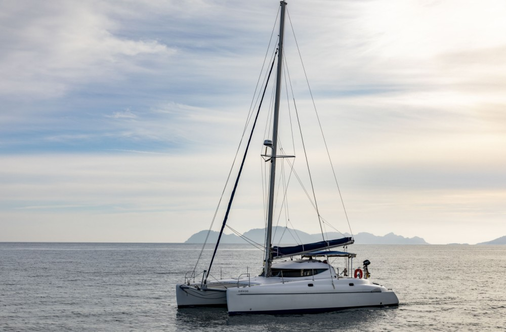 Noleggio barche Vigo economico Athena 38