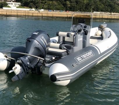Noleggio barche 3D Tender Lux 635 a Le Canon su Samboat