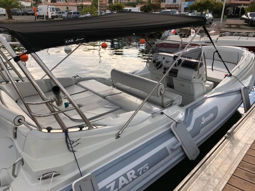 Noleggio barche Bormes-les-Mimosas economico Zar 75